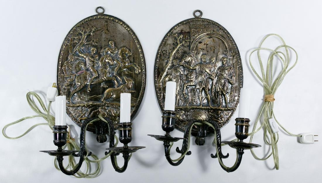Table Lamp, Wall Sconce and Decorative Brass Assortment - 2