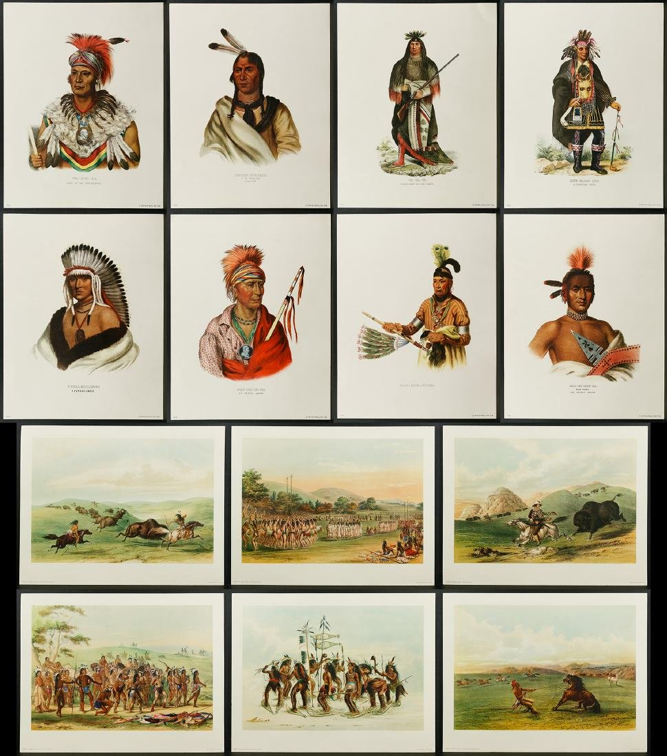 Native American Printed Portrait Assortment