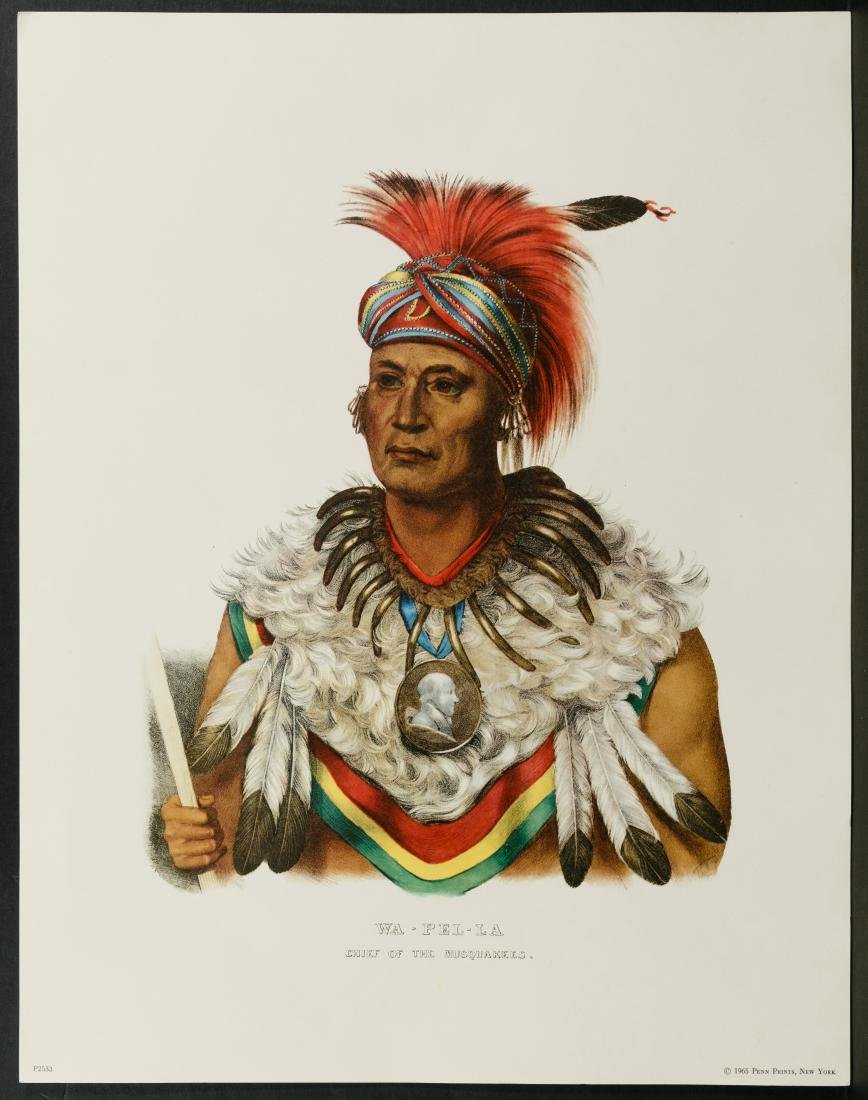 Native American Printed Portrait Assortment - 2