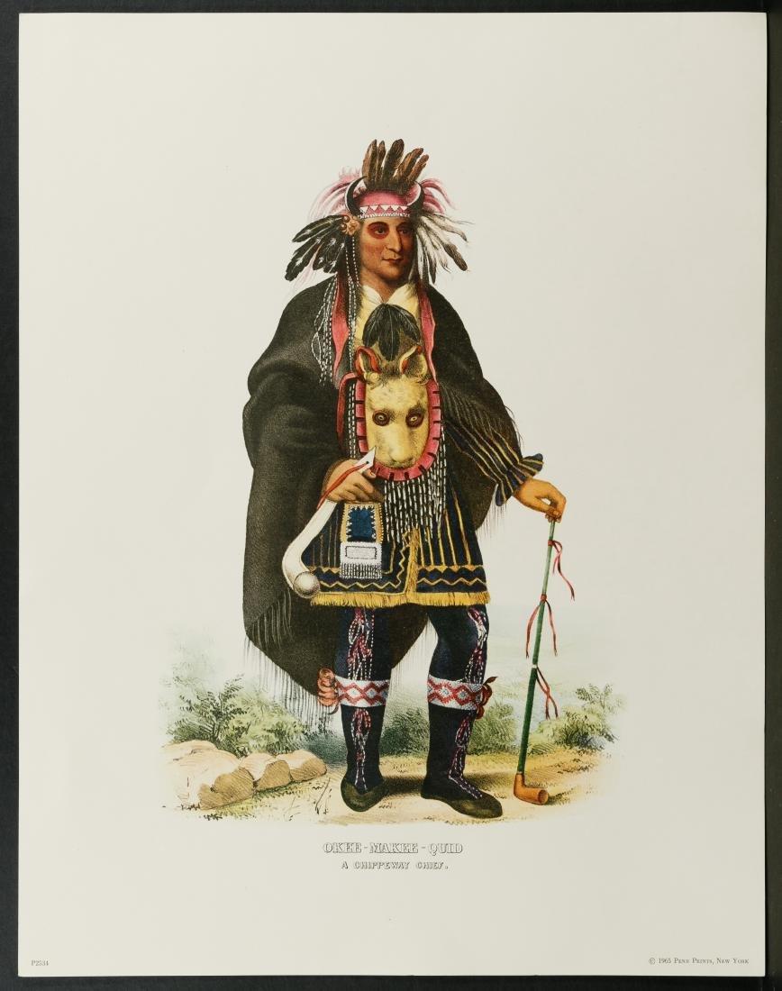 Native American Printed Portrait Assortment - 5