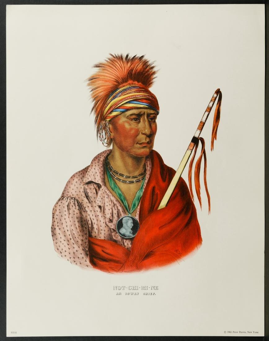 Native American Printed Portrait Assortment - 7