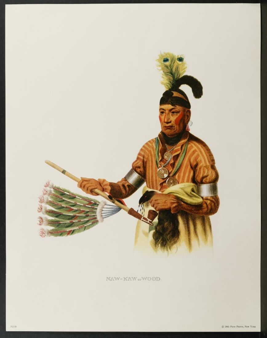Native American Printed Portrait Assortment - 8
