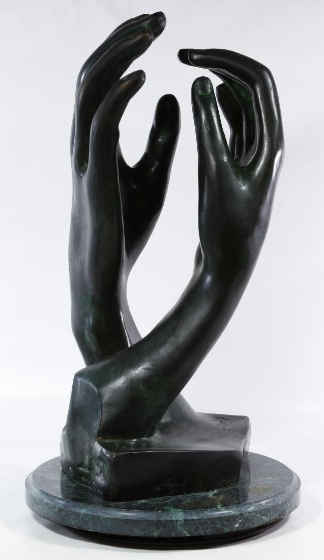 (After) Auguste Rodin (French, 1840-1917) Cast Metal