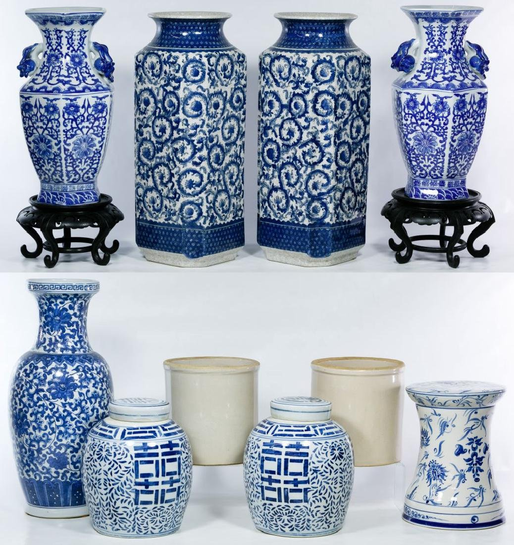 Contemporary Asian Pottery Assortment