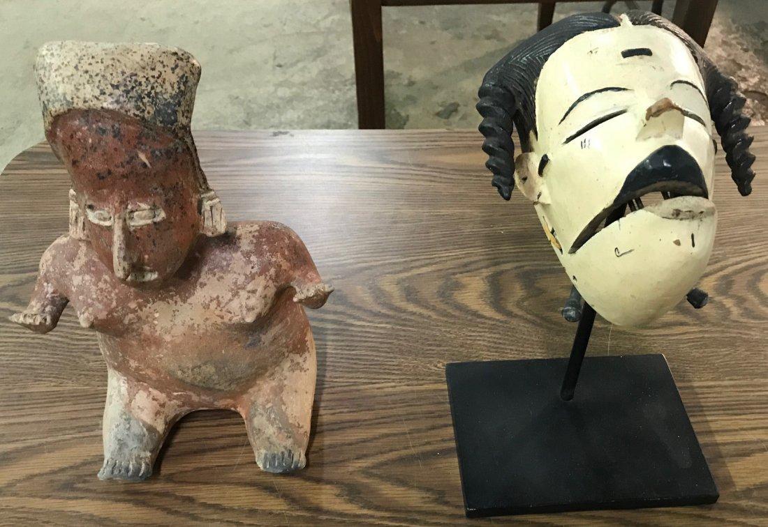 Primitive Figurine and Mask Assortment - 4