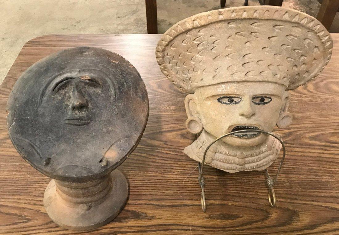 Primitive Figurine and Mask Assortment - 6