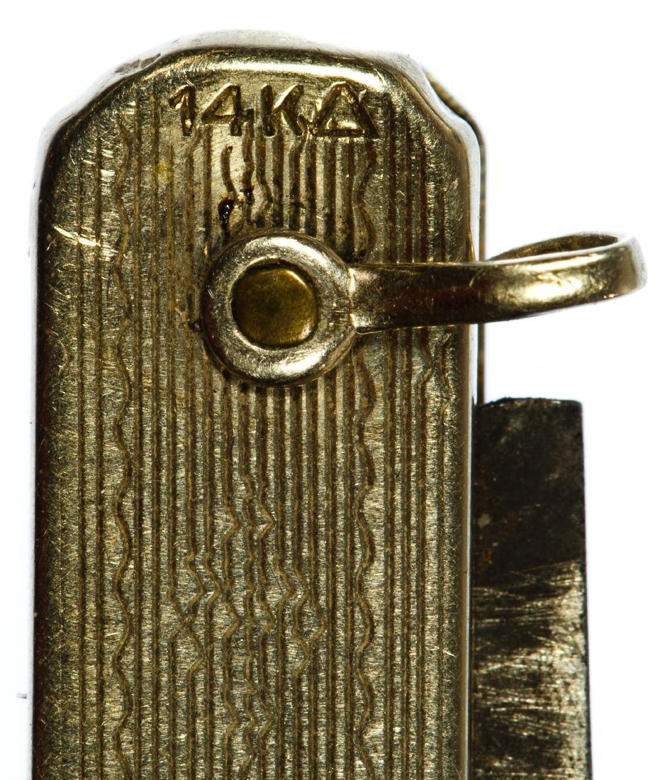 14k Gold Pocket Watch Chain - 4