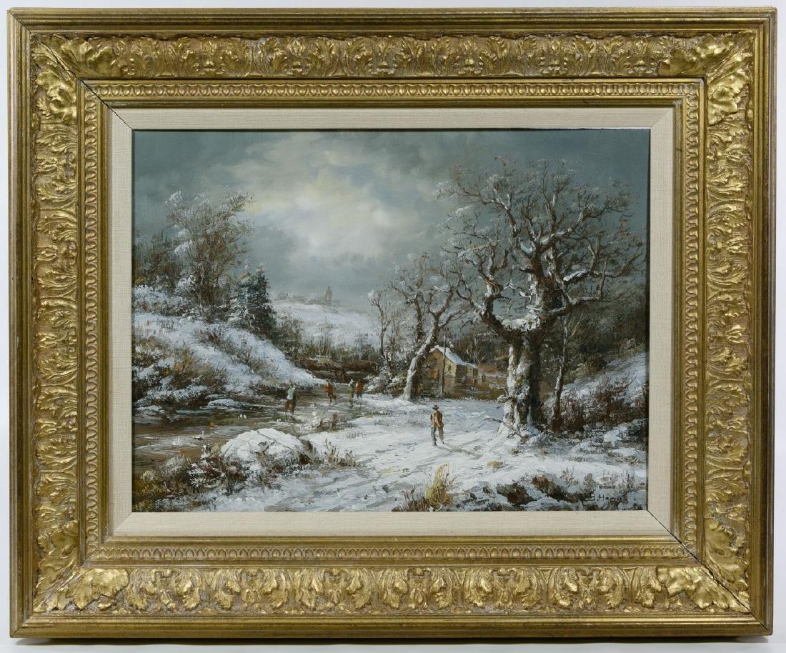 Bonnie Levine Harris (American, 1870-1962) 'Winter