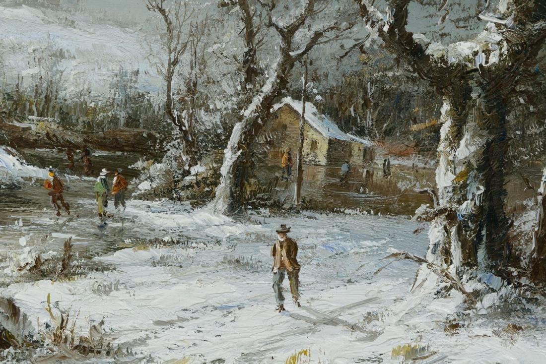 Bonnie Levine Harris (American, 1870-1962) 'Winter - 2