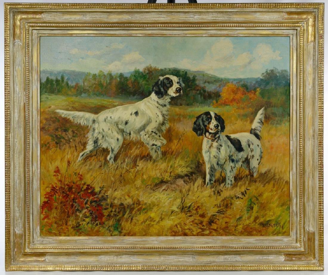 Ole Larsen (American, 1898-1984) Oil on Canvas