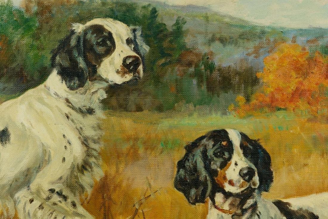 Ole Larsen (American, 1898-1984) Oil on Canvas - 2