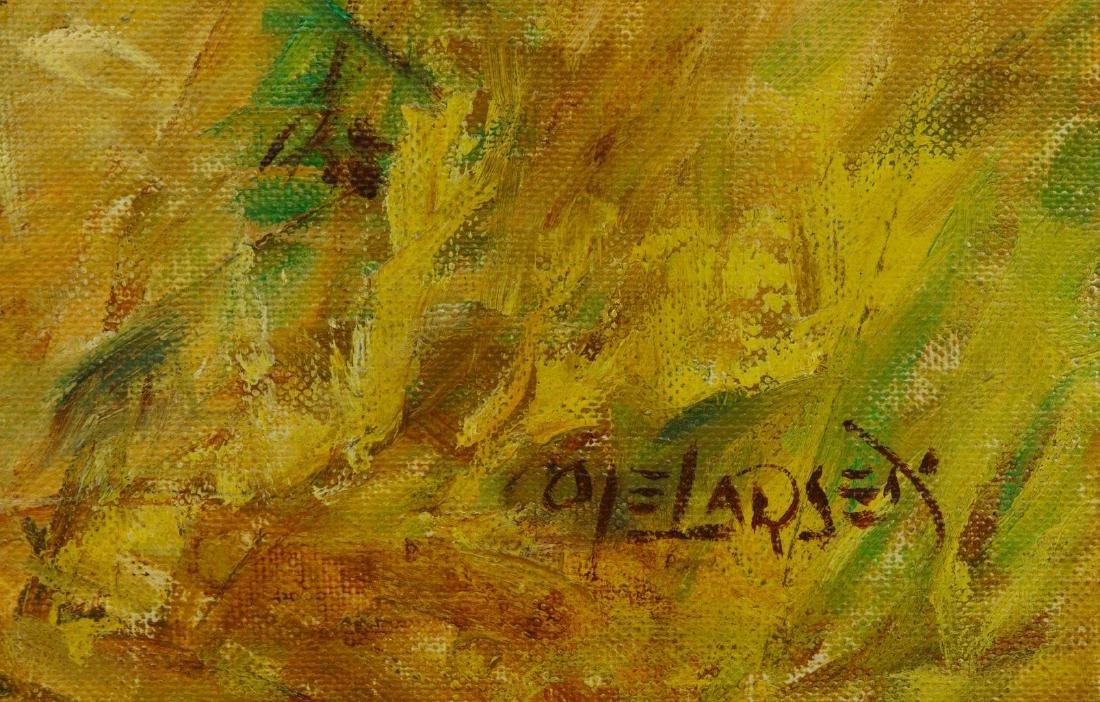 Ole Larsen (American, 1898-1984) Oil on Canvas - 3