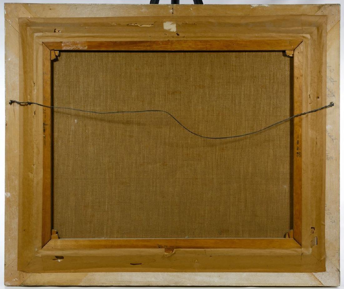Ole Larsen (American, 1898-1984) Oil on Canvas - 4