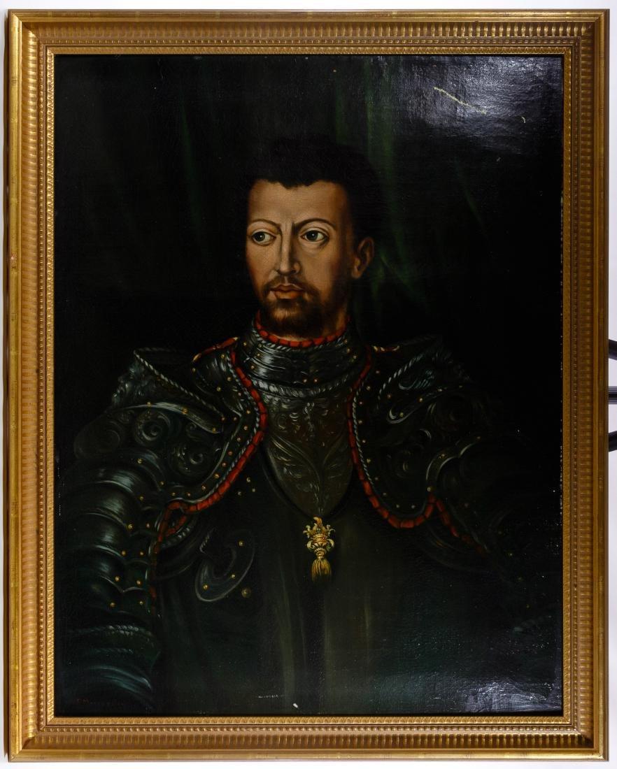 (After) Francesco Morandini (Italian, 1544-1597) Oil on