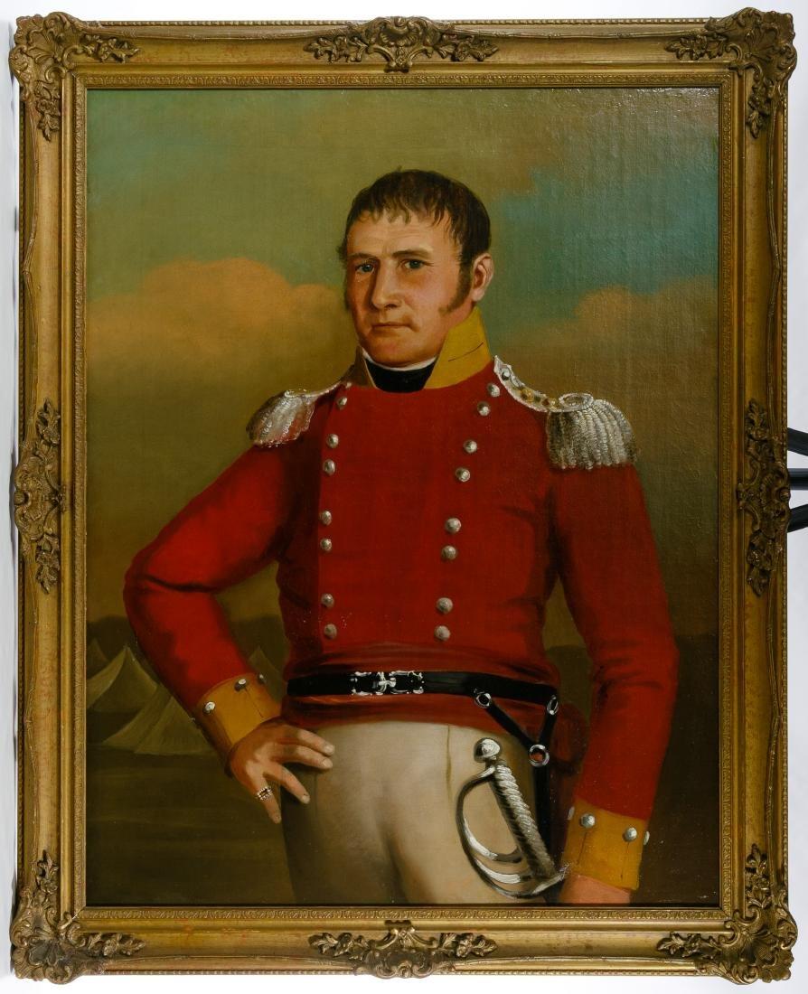 Continental School (19th Century) Portrait Oil on