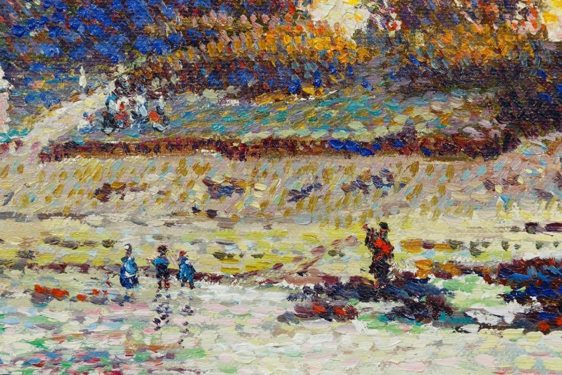 Lucien Neuquelman (French, 1909-1988) Oil on Canvas - 3