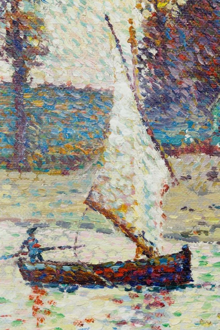 Lucien Neuquelman (French, 1909-1988) Oil on Canvas - 4