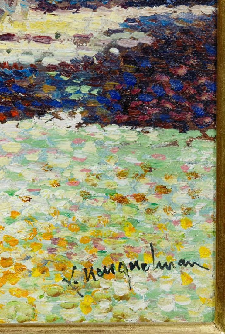 Lucien Neuquelman (French, 1909-1988) Oil on Canvas - 5