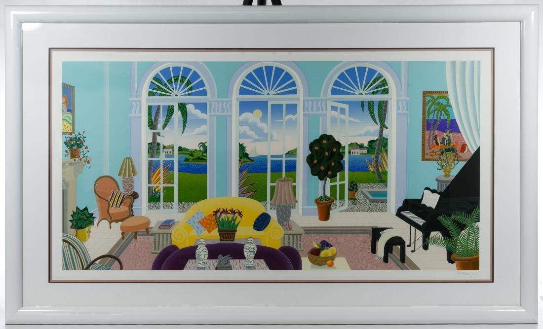 Thomas McKnight (American, b.1941) 'Palm Island'