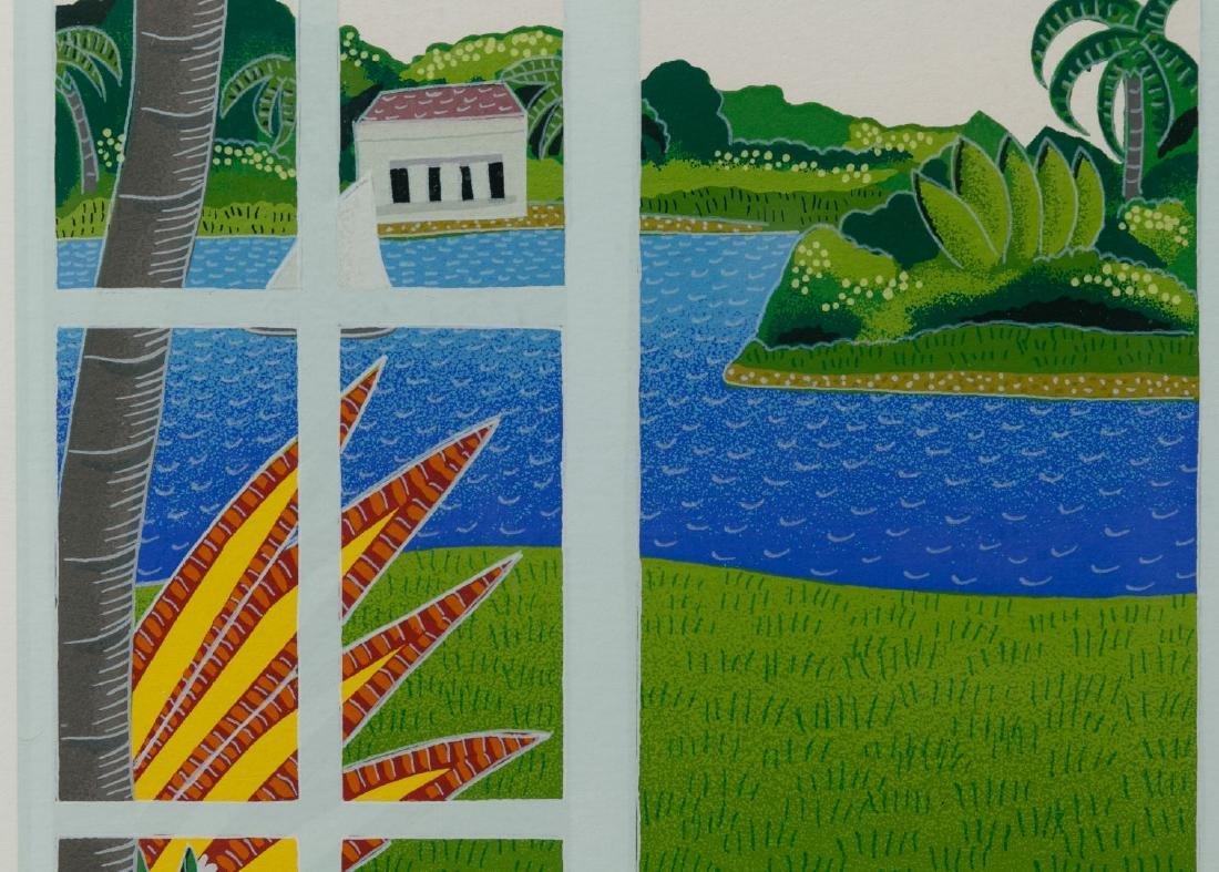 Thomas McKnight (American, b.1941) 'Palm Island' - 2