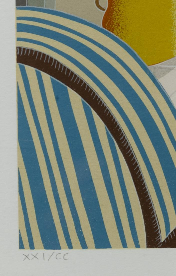 Thomas McKnight (American, b.1941) 'Palm Island' - 4