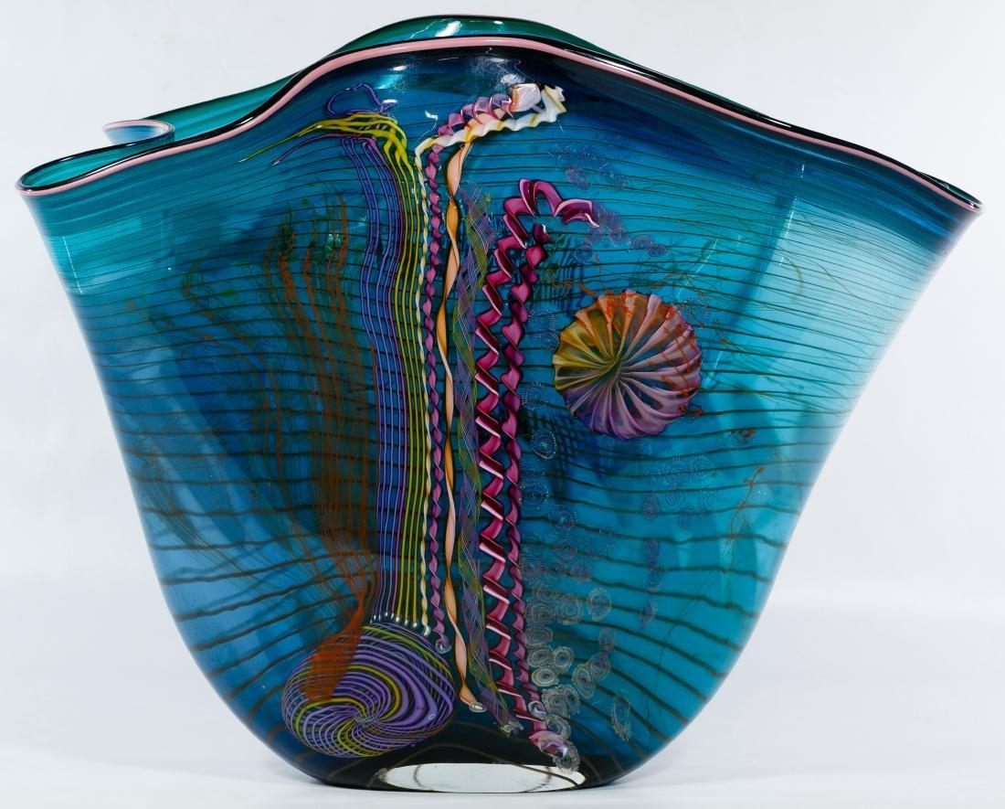 Chris Hawthorne and James Nowak Art Glass 'Aquarium' - 3