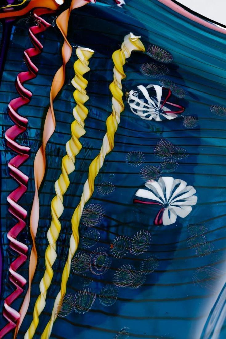 Chris Hawthorne and James Nowak Art Glass 'Aquarium' - 5
