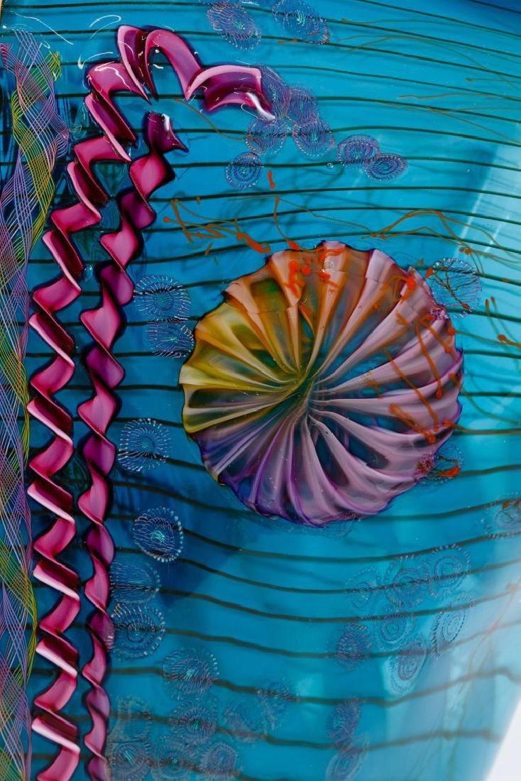 Chris Hawthorne and James Nowak Art Glass 'Aquarium' - 6
