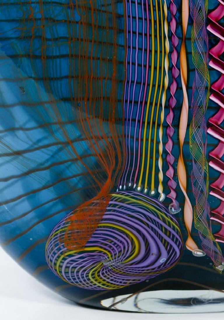 Chris Hawthorne and James Nowak Art Glass 'Aquarium' - 7