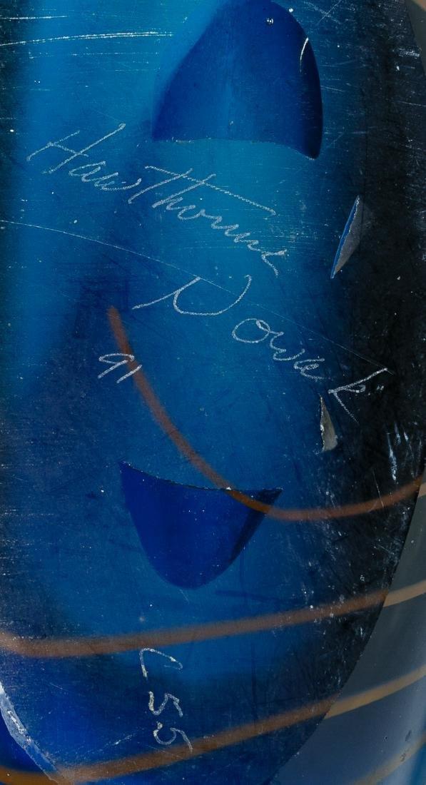 Chris Hawthorne and James Nowak Art Glass 'Aquarium' - 8