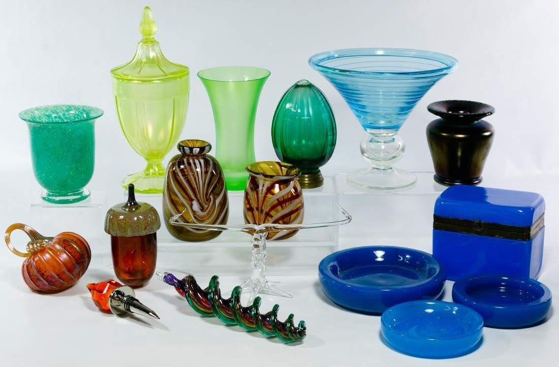 Signed Art Glass Assortment