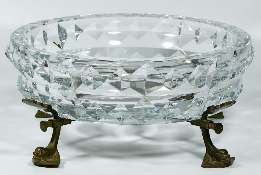 Baccarat Crystal Center Bowl