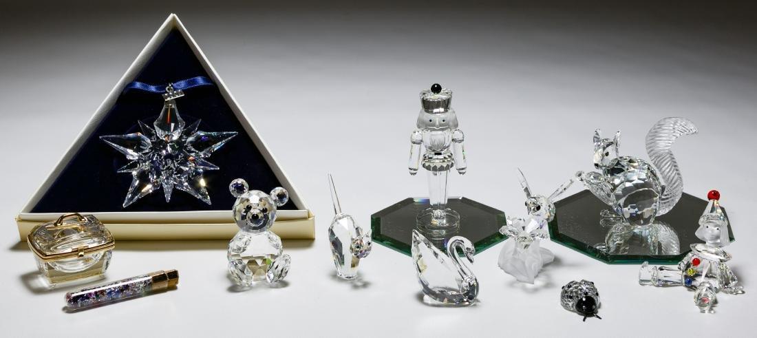Swarovski Crystal Figurine Assortment