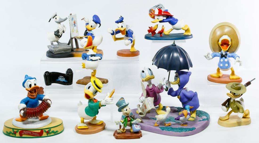Classic Walt Disney 'Donald Duck' Figurine Assortment