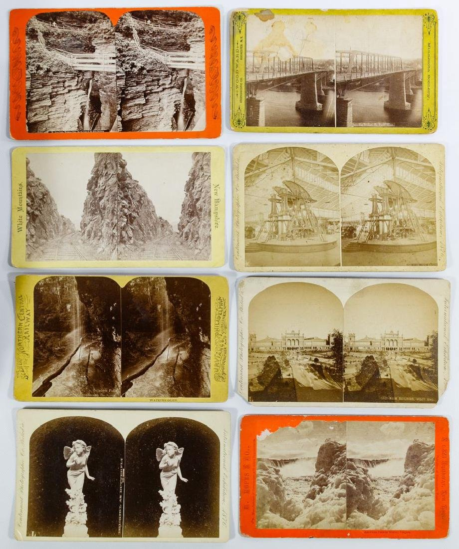 Cabinet Size Stereoview Card Assortment - 2