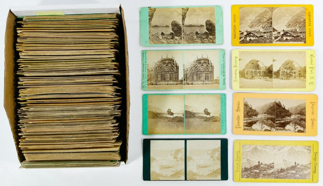 European Architecture and City Stereoview Card - 2