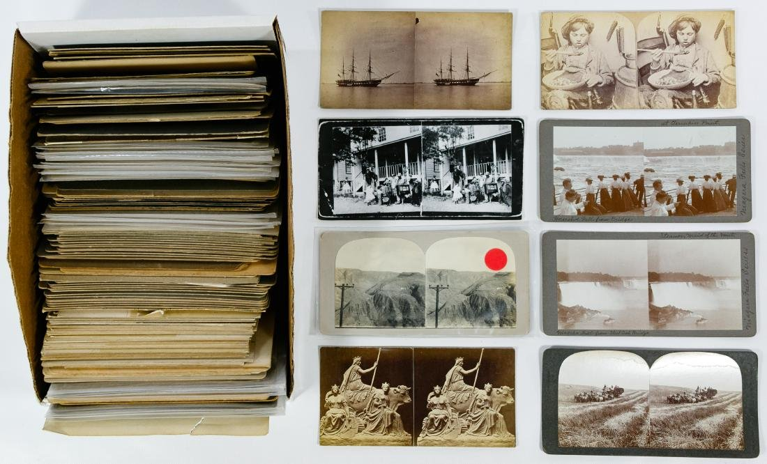 Hand Made Stereoview Card, Photograph and Postcard