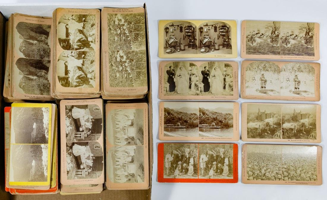 Kilburn Stereoview Card Assortment
