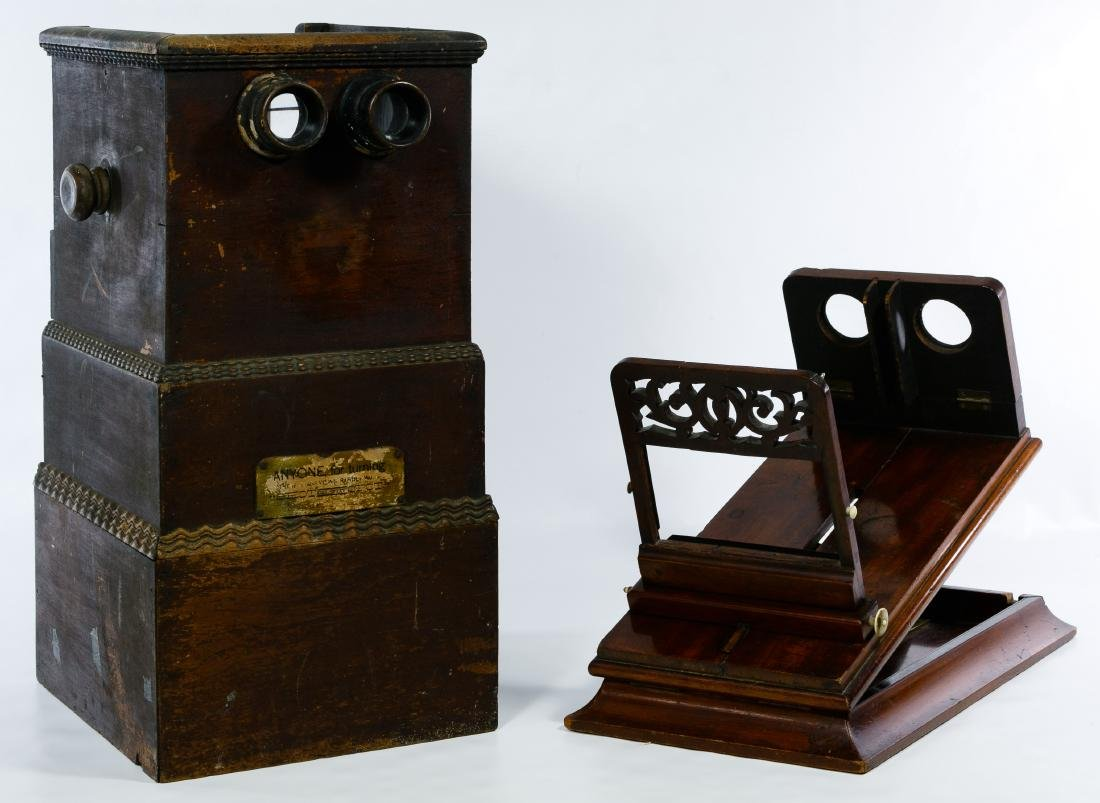 Table Top Stereoview Card Viewers