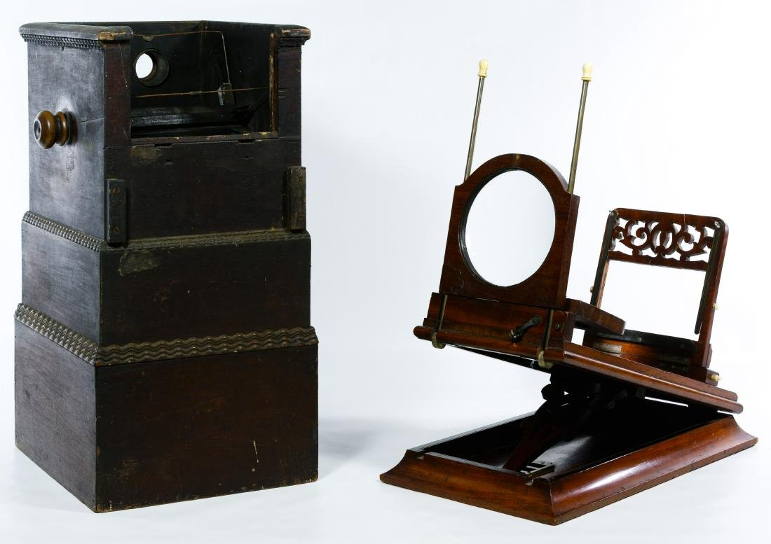 Table Top Stereoview Card Viewers - 2