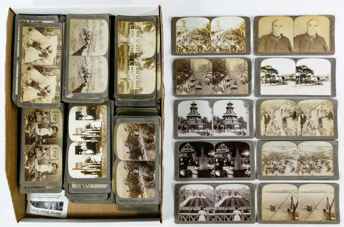 Underwood and Underwood Stereoview Card Assortment - 2