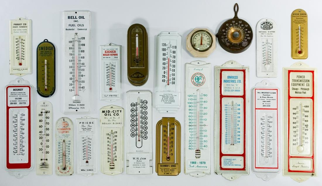 Advertising Thermometer and Thermostat Assortment