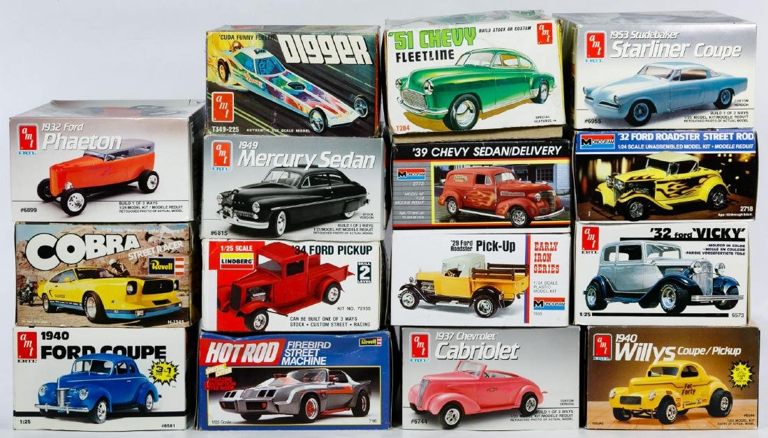 Model Toy Car Kit Assortment