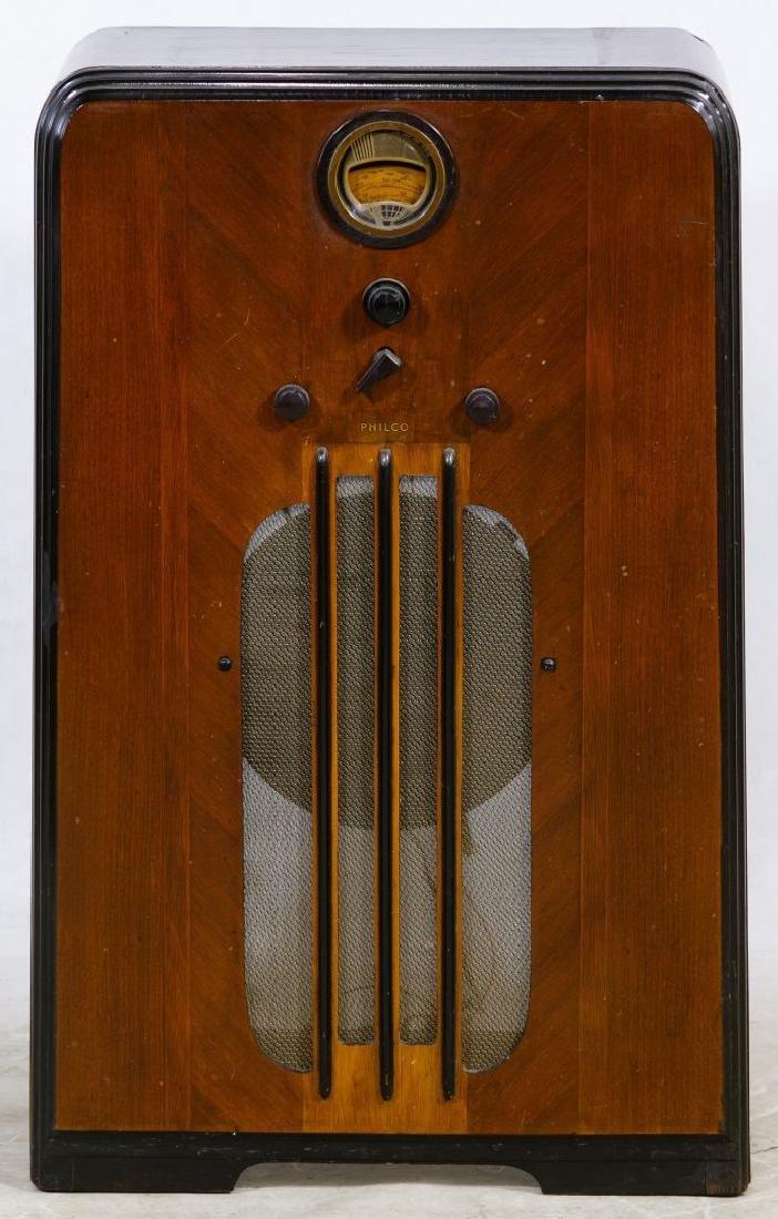 Philco Floor Model Three Band Tube Radio