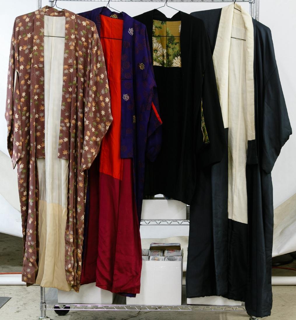 Silk and Rayon Kimono Assortment