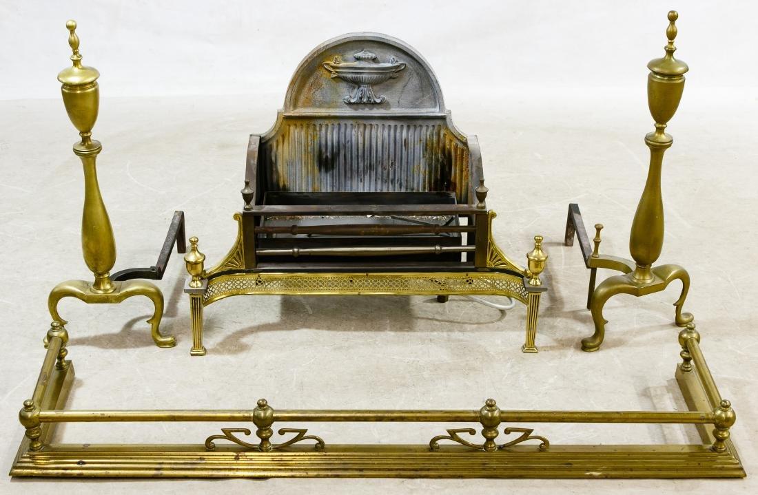 Brass and Cast Iron Fireplace Assortment