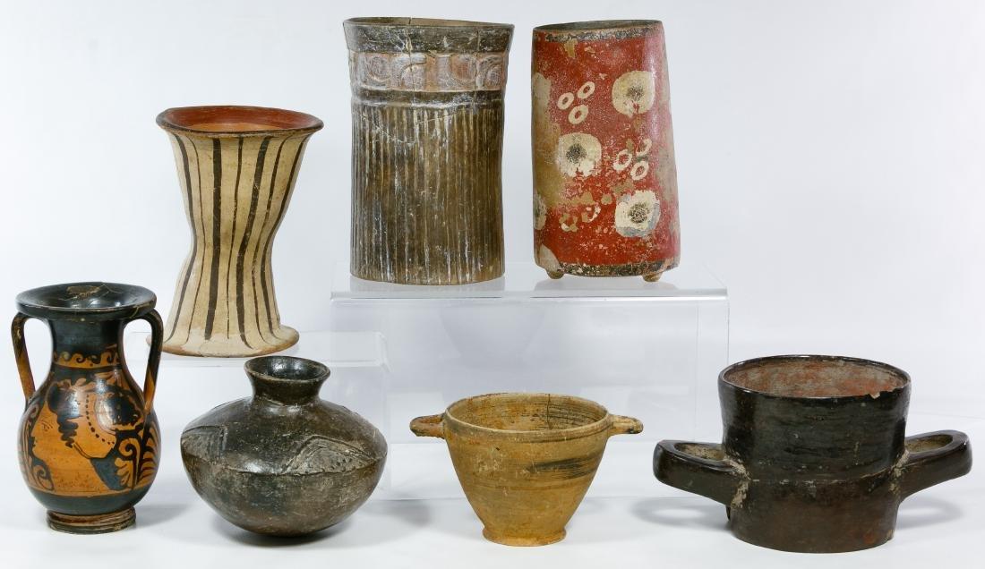 Primitive Pottery Assortment