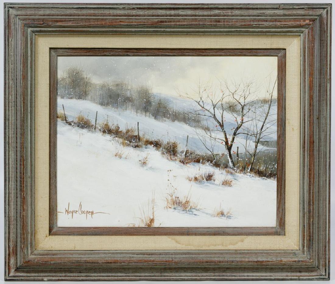 Wayne Cooper (American, b.1942) Oil on Panel
