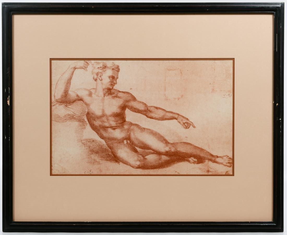 Italian Renaissance Style Male Torso Prints - 2