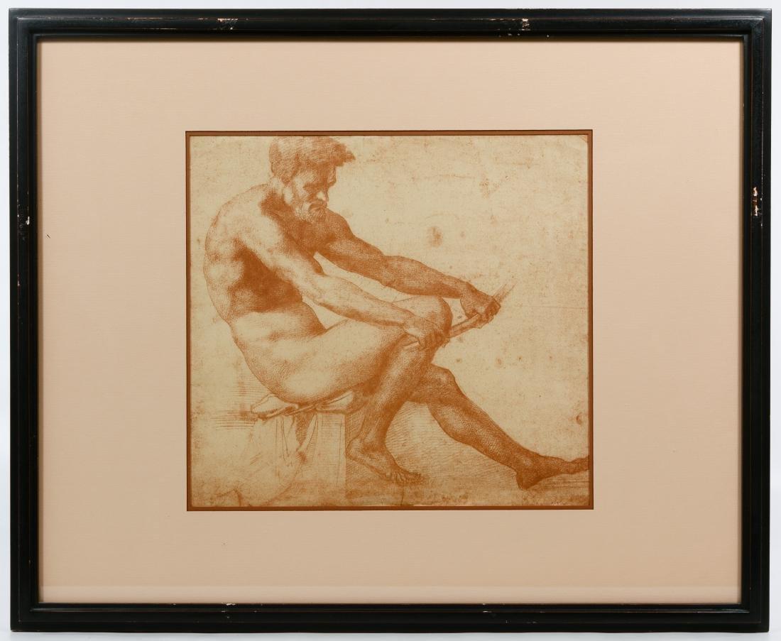Italian Renaissance Style Male Torso Prints - 3